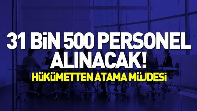 Sağlık Bakanı duyurdu! 31 bin 500 personel alınacak.