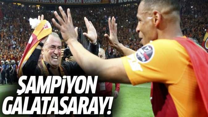 Şampiyon Galatasaray!
