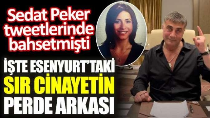 Sedat Peker tweetlerinde bahsetmişti. İşte Esenyurt'taki sır cinayetin perde arkası