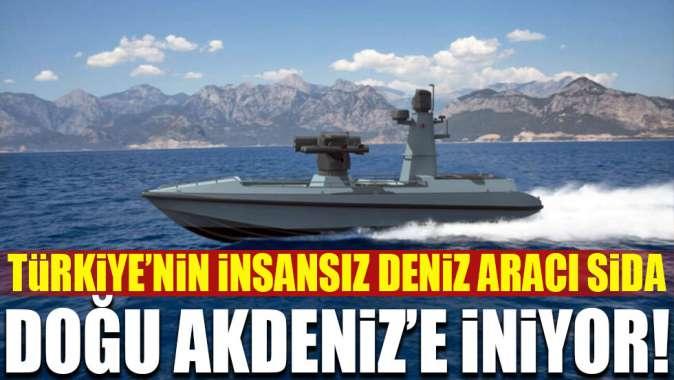 SİDA 2021'de Doğu Akdeniz'e iniyor!