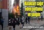 3 katlı binada patlama meydana geldi