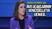 ABD'den çağrı: Rus uçaklarının Venezüella'ya uçmasını engelleyin