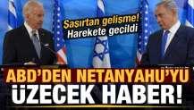 ABD'den İsrail'i üzecek haber! Harekete geçildi