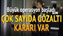 Adana merkezli 3 ilde FETÖ operasyonu: 26 gözaltı kararı