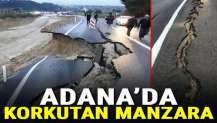 Adana'da korkutan manzara