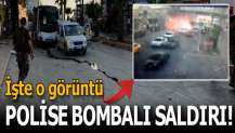 Adana'da polis otobüsüne bombalı saldırı