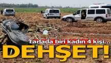Adana'da silahlı 'başak' kavgası! 4 kişi yaralandı