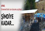 AFAD, Ermenek'teki son durumu açıkladı