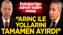 """Ahmet Hakan yazdı: """"Erdoğan Arınç ile yollarını tamamen ayırdı"""""""