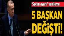 AK Parti'de 'seçim ayarlı' yenileme!