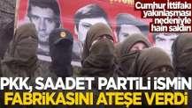 """AK Parti ile ittifak"""" nedeniyle hain saldırı"""