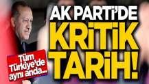 AK Parti'de kritik tarih! 18 Kasım'da tüm Türkiye'de...