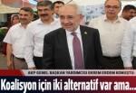 AK Partili Erdem: Ya CHP ya da MHP koalisyon kuracağız