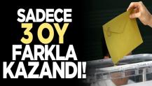 AK Parti'nin Yusufeli adayı seçimi 3 oy farkla kazandı