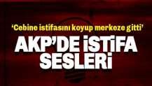 AKP İstanbul İl Merkezi'nde İSTİFA sloganları