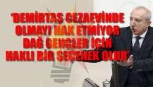 AKP vekilden partisine aykırı çıkış