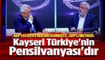 AKP'li Metiner: Kayseri Türkiye'nin Pensilvanyası'dır