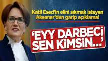 Akşener 'Eyy darbeci sen kimsin…'