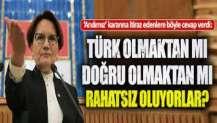 Akşener'den AKP ve MHP'ye çok sert 'Andımız' tepkisi