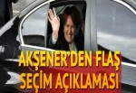 Akşener'den flaş iddia: Cumhurbaşkanlığı seçimi 2019'a kalmaz