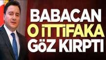Ali Babacan'dan ittifak açıklaması