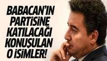 Ali Babacan'ın kuracağı partiye katılması beklenen isimler kimler?