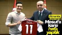 Almanların Mesut Özil pişmanlığı