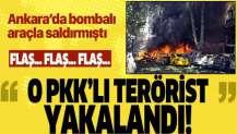 Ankara'nın Kumrular Caddesi'ndeki terör saldırısının şüphelisi PKK'lı terörist, Diyarbakır'da yakalandı