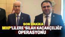 Antalya MHP'ye silah kaçakçılığı operasyonu: 4 tutuklama