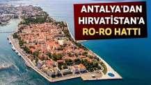 Antalya'dan Hırvatistan'a Ro-Ro hattı