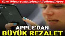 Apple özür diledi! Herkesi dinlemişler