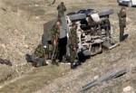 Ardahan'da askeri araç devrildi: 8 yaralı