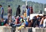 Ayvalık'ta 257 mülteci yakalandı