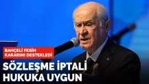 Bahçeli'den İstanbul Sözleşmesi açıklaması: Sözleşme iptali hukuka uygun