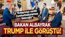 Bakan Albayrak, Trump ile görüştü: Mesajlarımızı ilettik!