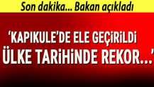 Bakan Pekcan açıkladı: Kapıkule'de 2 ton 70 kg esrar ele geçirildi! Ülke tarihinde rekor...