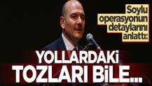 Bakan Soylu Tunceli operasyonunun detaylarını anlattı
