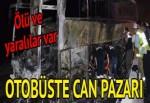 Balıkesir-İzmir yolunda otobüs kazası