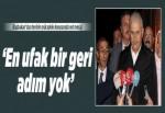 Başbakan Yıldırım: En ufak bir geri adım yok..