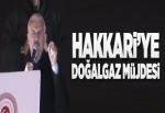 Başbakan Yıldırım'dan Hakkari'ye doğalgaz müjdesi.