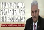Başbakan Yıldırım'dan 'yeni devlet kuruluyor' sözlerine tepki.