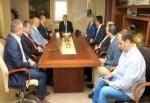 Başkan, Bulgar konuklarını ağırladı