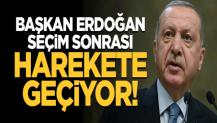 Başkan Erdoğan seçim sonrası teşekkür ziyaretlerine başlıyor