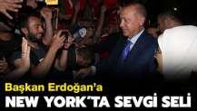 Başkan Erdoğan'a New York'ta sevgi seli