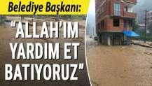 Belediye Başkanı böyle yazdı: Allah'ım yardım et batıyoruz