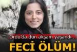 Beton mikserinin çarptığı genç kız hayatını kaybetti