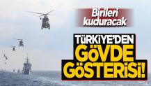 Birileri kuduracak! Türkiye'den Doğu Akdeniz'de gövde gösterisi