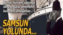 Biz Anadolu'ya ideali ve imanı götürüyoruz