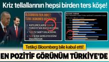 Bloomberg: Büyümede en pozitif görünüm Türkiye'de