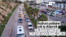 Bodrum'a yılbaşı akını